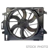 2011 Mini Cooper Countryman Cooling Fan Assembly