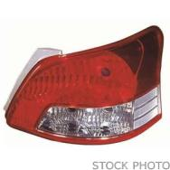 2012 Infiniti M35H Tail Light, Driver Side